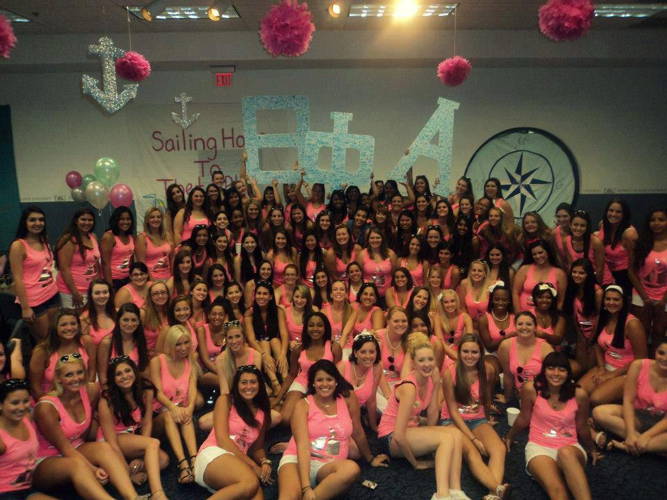 Adding 63 beautiful new girls to our incredible chapter. TSM.