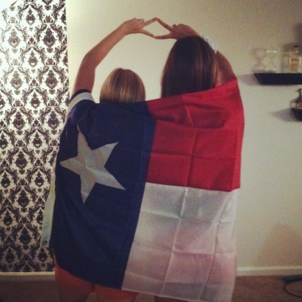 God bless Texas, and God bless ADPi. TSM.