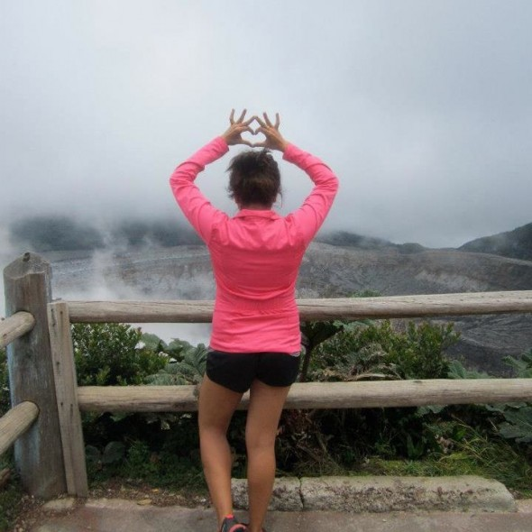 Throwing what you know at Volcan Poas, Costa Rica. TSM.