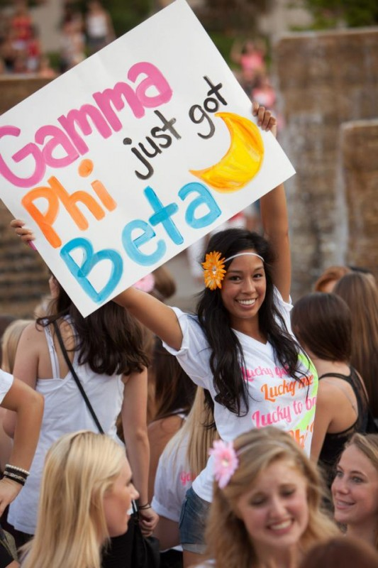 Lucky you, lucky me, lucky to be a G Phi B! TSM.