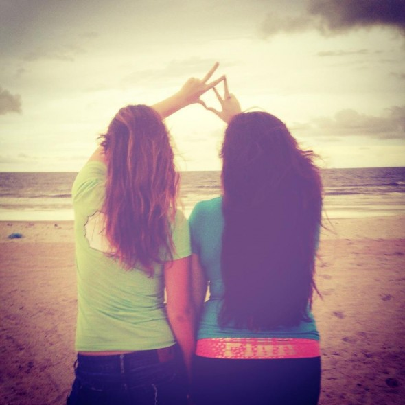 Chance made us sisters, choice made us best friends. TSM.
