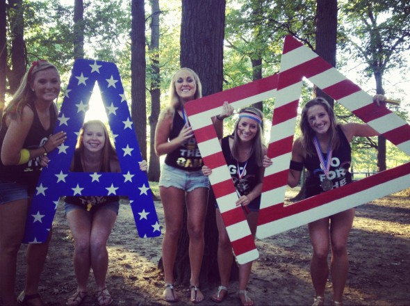 When the only thing better than your sorority is your country. TSM.