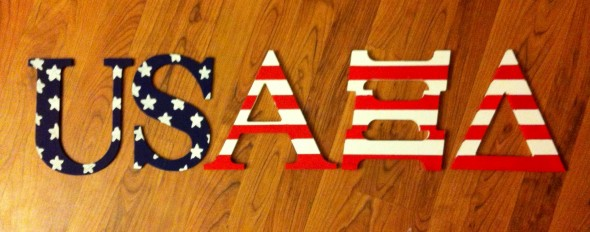 My two favorite things: my country and my sorority. TSM.