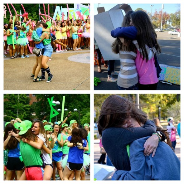 Bid Day to Big/Lil Reveal, there is no greater joy than you and your best friend getting the best big's ever! TSM.
