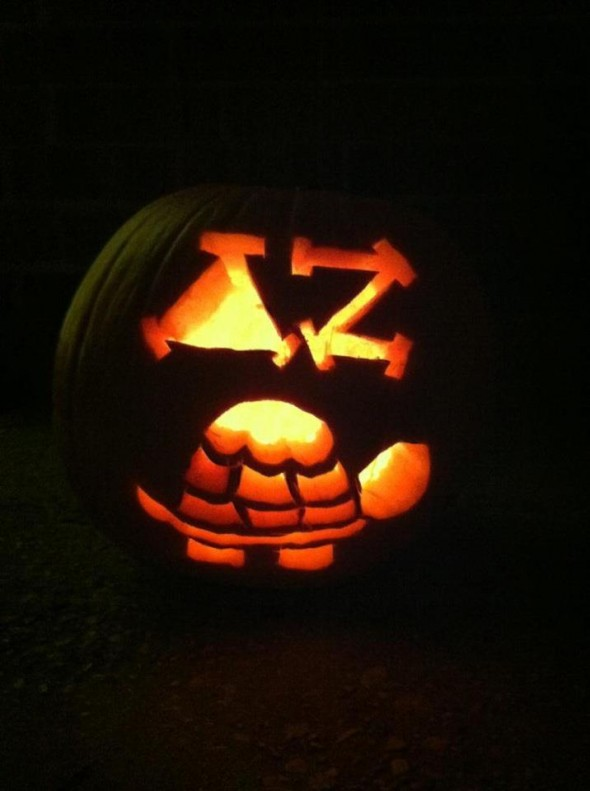 On Halloween, carve what you know! TSM.