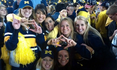 Throwing what we know for Michigan's 900th win. TSM.