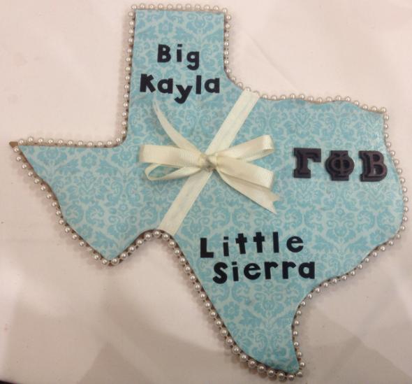 As rare as a diamond, a sweet southern pearl, Texas' finest, a Gamma Phi Beta girl. TSM.