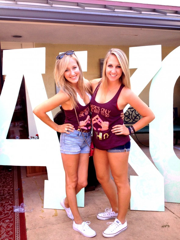 Bid day is ten times better with your little by your side. TSM.