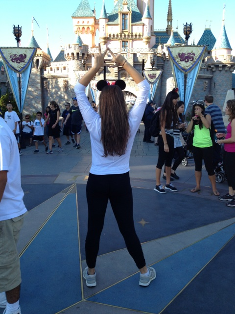 Throwing what you know at the happiest place on earth. TSM.