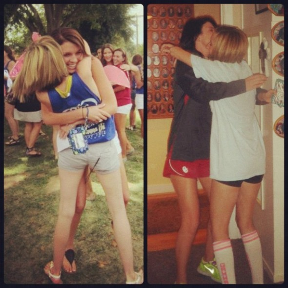 From Bid Day to Big Little Reveal, we were just meant to be. TSM.