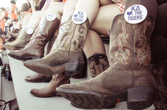 Kappa Delta <3's the Tigers. TSM.