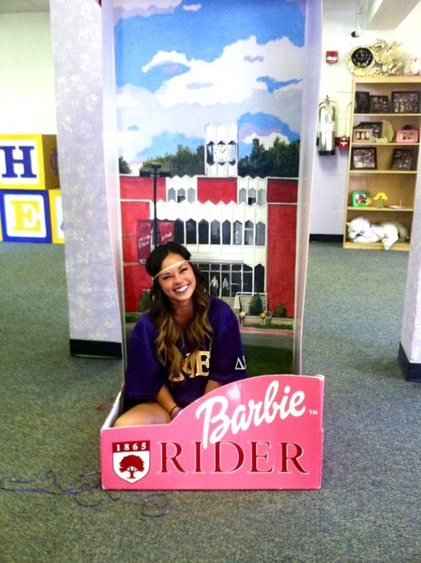 Rider University DPhiE Barbie Edition. TSM.