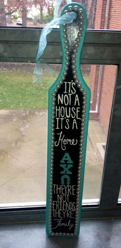It's not a house, it's a home. TSM.