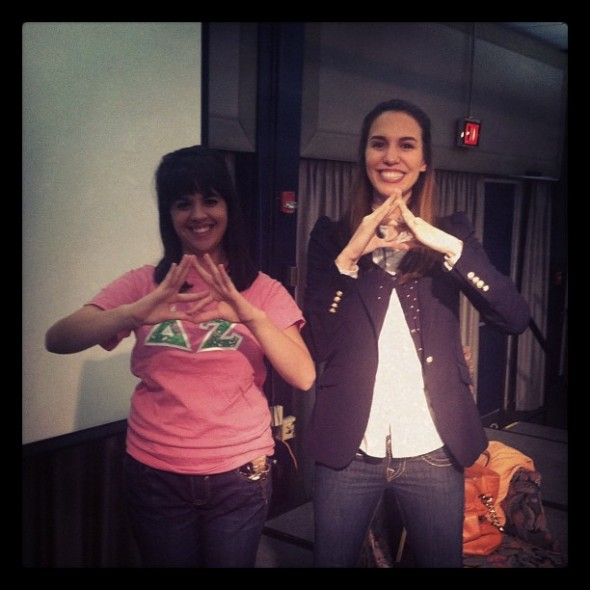 Throwing what you know with Christy Carlson Romano. TSM.