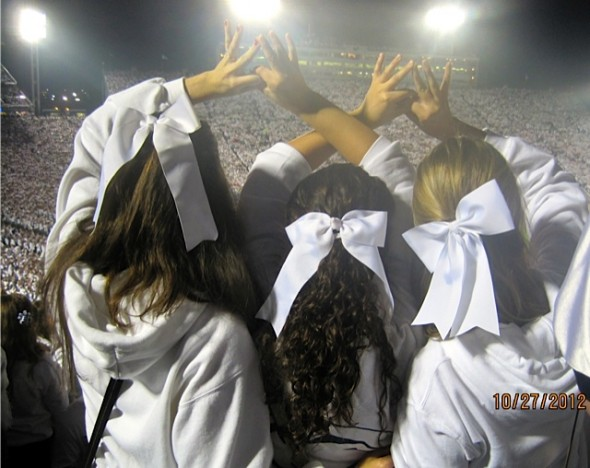 My two true loves: football and Zeta Tau Alpha. TSM.