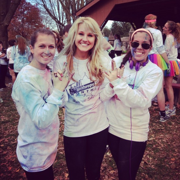 Winning first place and raising over $9,000 for Juvenile Diabetes Research at the philanthropy event that you planned. TSM.