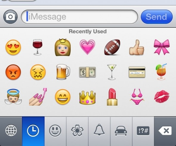 My most recently used emojis. TSM.
