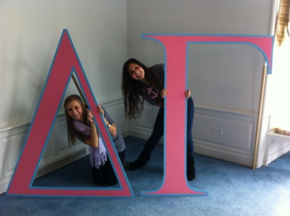 Having letters bigger than you and your big. TSM.