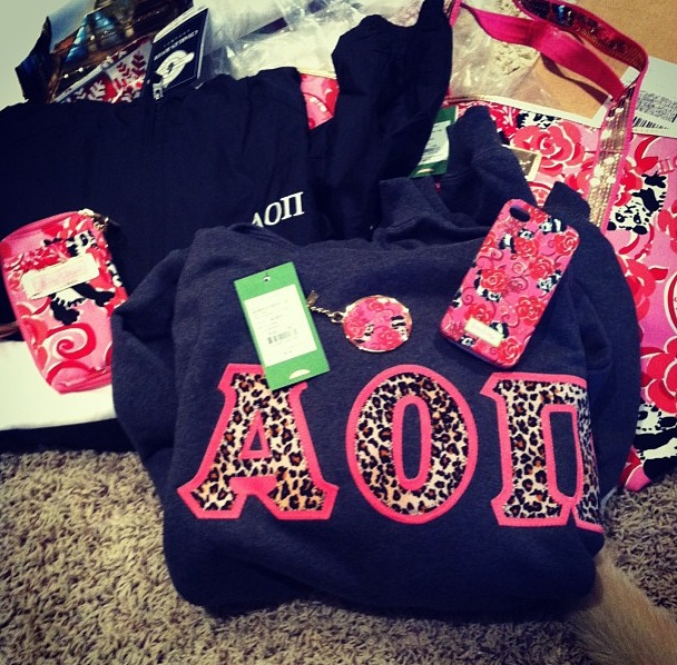 Everything AOII for Christmas. TSM.