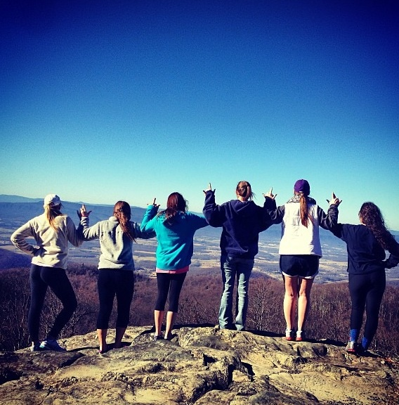 Hiking sisterhood event. TSM.