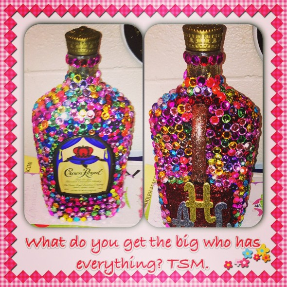 What do you get the Big who has everything? TSM.