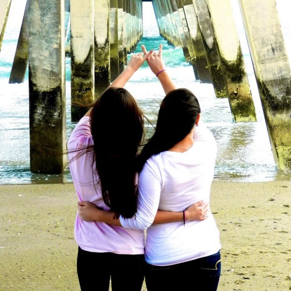 Living at the beach with your sisters makes us Wilmington babes the luckiest girls in the world. TSM.