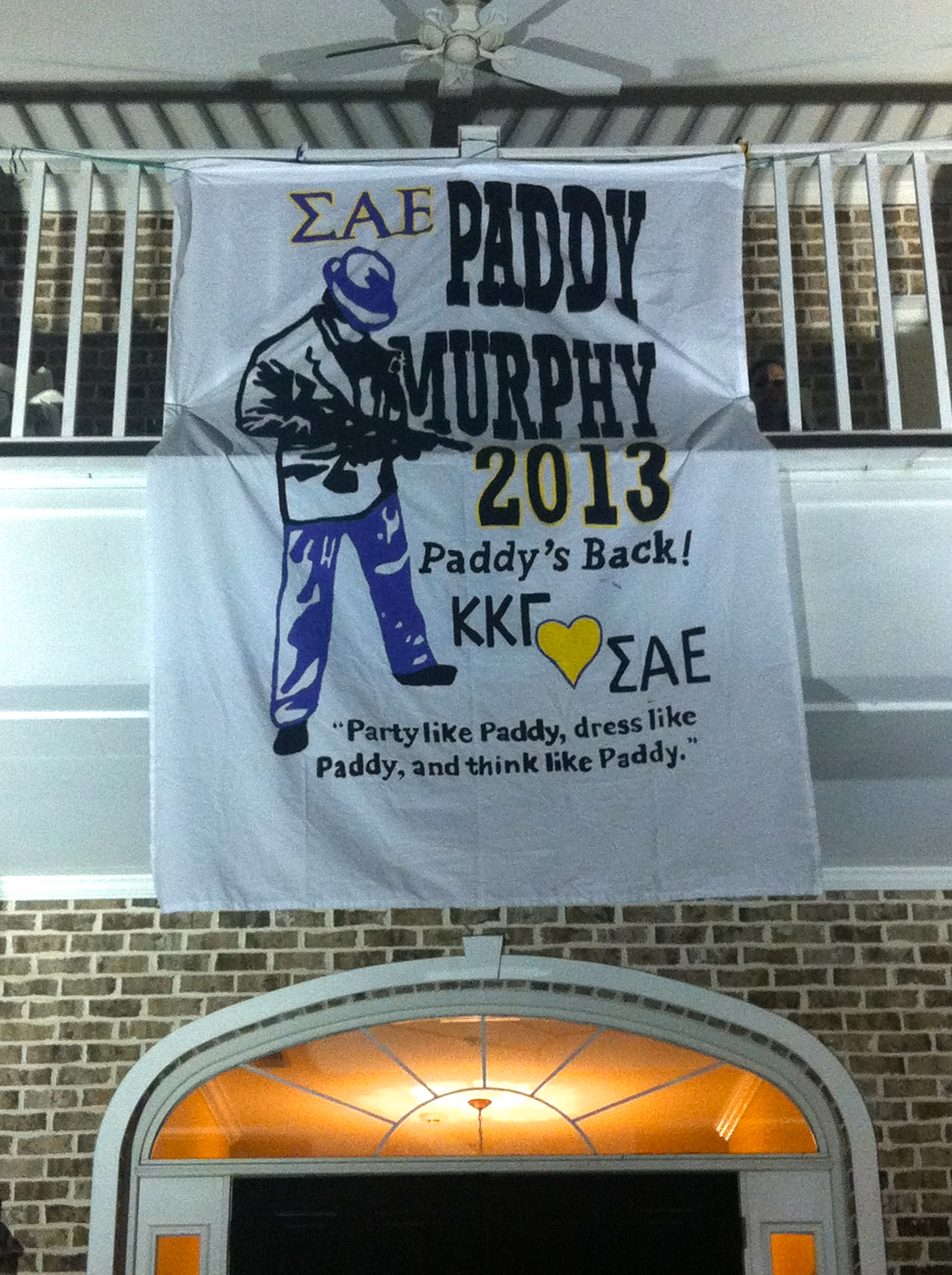 ΚΚΓ ❤'s ΣΑΕ and Paddy Murphy! TSM.