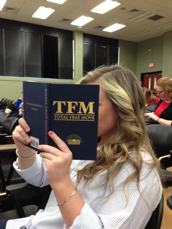Reading TFM pre-meeting. TSM.