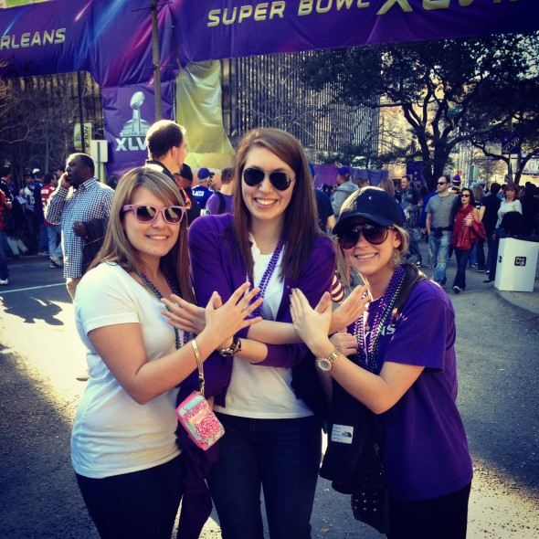 Throw what you know in front of the Superdome. TSM.