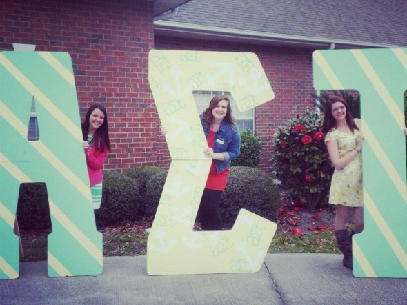 When we bring out the big letters, you know we mean business. TSM.