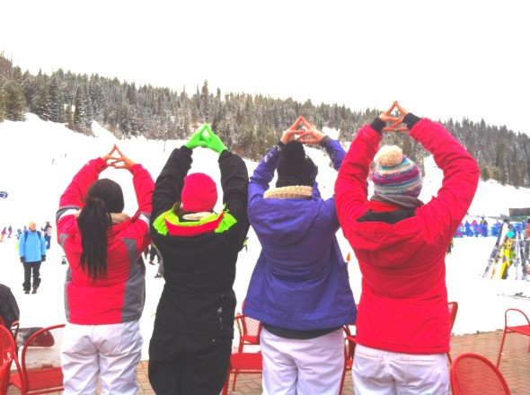 Throwing what you know on the slopes. TSM.