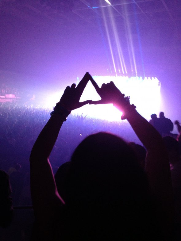 Throwing what you know, even at a rave. TSM.