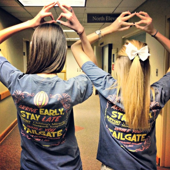 Arrive early, stay late, support Children's Miracle Network Hospitals while you tailgate! TSM.