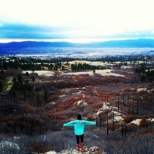 Spirit jersey at Daniels Park, Colorado! TSM.