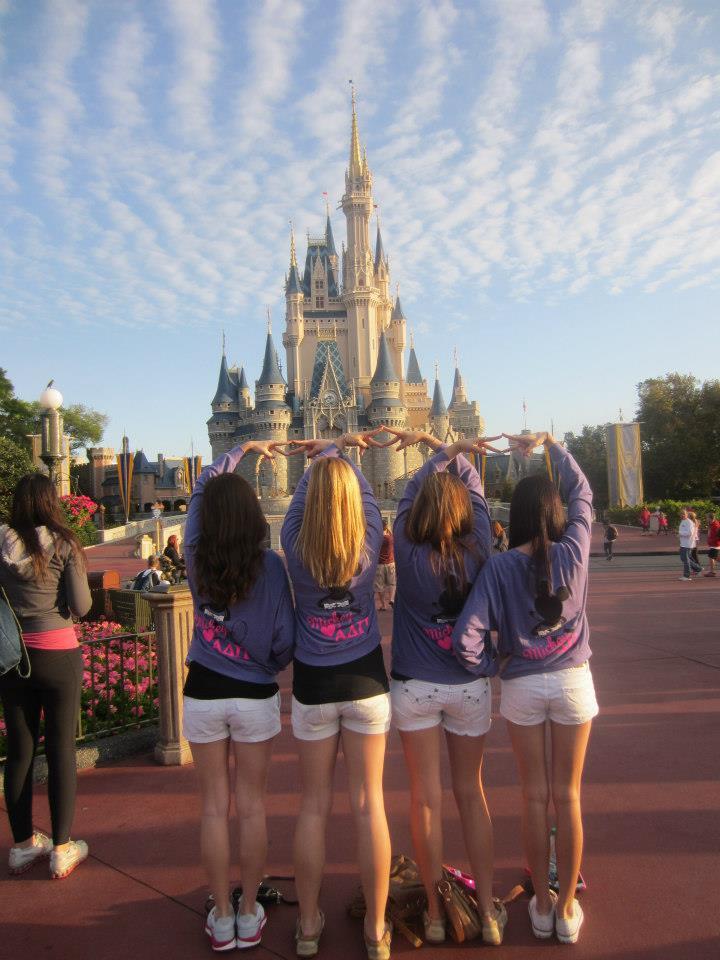 ADPi's in Disney! TSM.