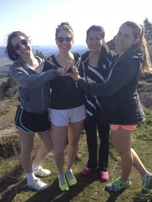 Sisterhood hikes. TSM.