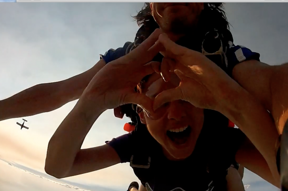 Throw what you know where ever you go. Skydiving in Cairns, Australia! TSM.