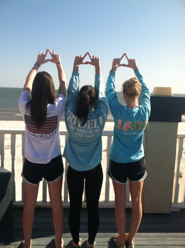 Deltas taking over the shores of Alabama. TSM.