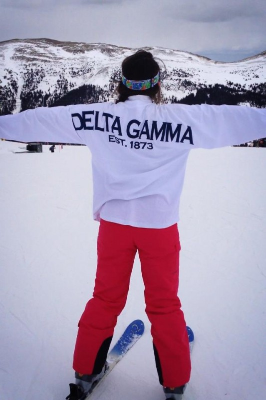 Representing in Copper Mountain, CO 12,313 ft. TSM.