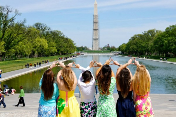 Throwing what you know in front of monuments. TSM.