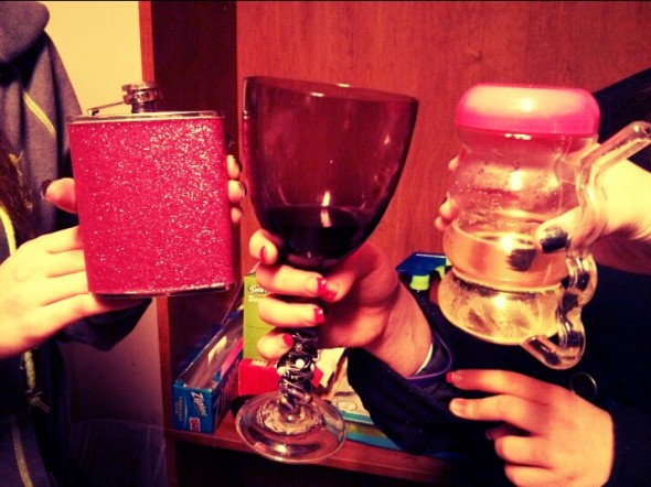 Wine night? More like, everything night. TSM.