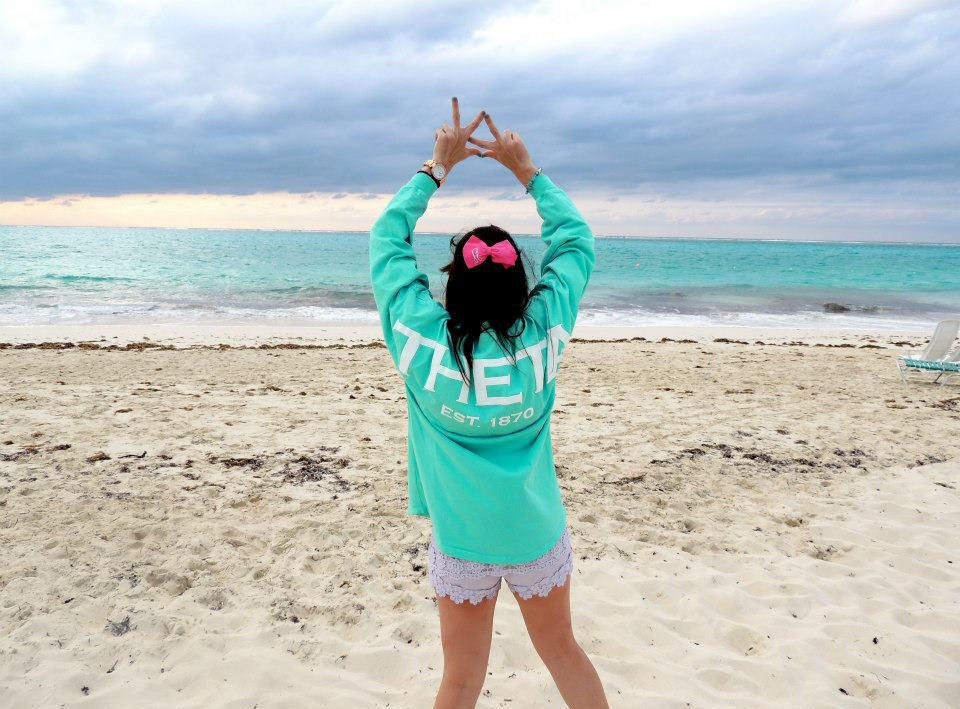 Reppin' from all the way from Turks and Caicos. TSM.