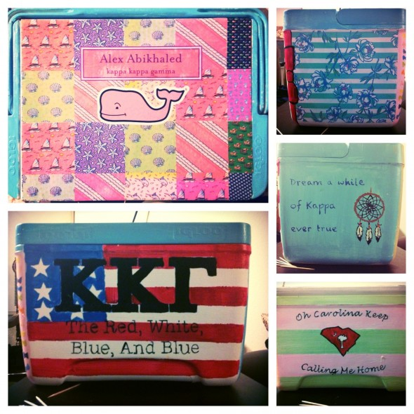 The cooler you make for your little puts all others to shame. TSM.