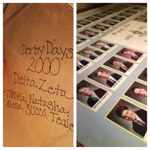 Stealing the same composite your chapter stole 13 years ago, for the same event. TSM.