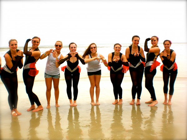 Throwing what you know with your nationally ranked dance team in Daytona Beach. TSM.
