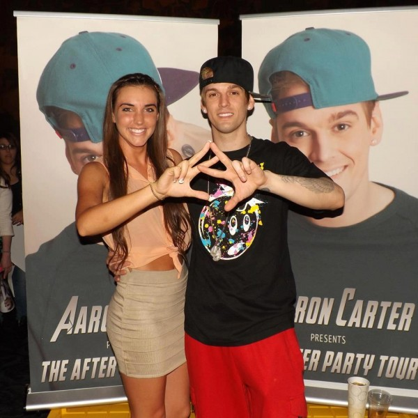 Throwing what you know with Aaron Carter. TSM.