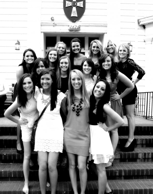 Not being able to tell if it's their formal or yours by the amount of girls from your house in attendance. TSM.
