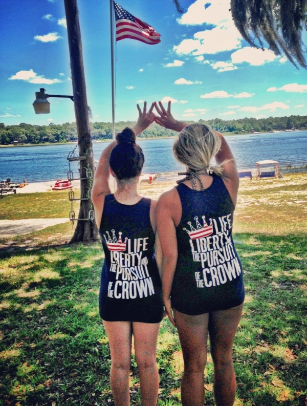 Life, liberty, and the pursuit of the crown. TSM.