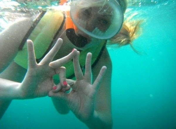 Throwing whatcha know under water! TSM.