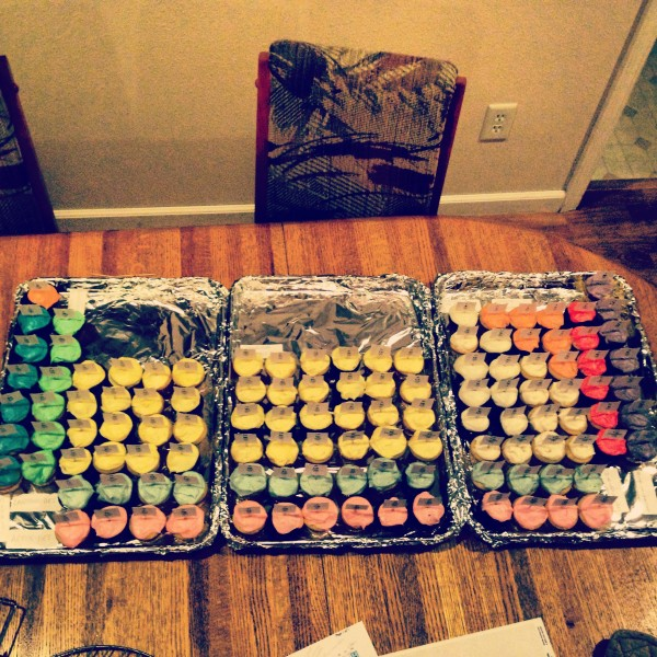 Cupcakes for extra credit. TSM.
